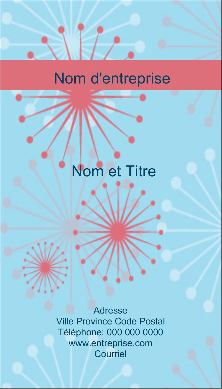 """2"""" x 3½"""" Carte d'affaire - Célébration simple"""