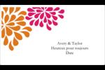Fête prénuptiale en rose et orange Cartes Et Articles D'Artisanat Imprimables - gabarit prédéfini. <br/>Utilisez notre logiciel Avery Design & Print Online pour personnaliser facilement la conception.