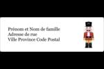 Casse-noisette Étiquettes à codage couleur - gabarit prédéfini. <br/>Utilisez notre logiciel Avery Design & Print Online pour personnaliser facilement la conception.
