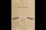 Toile à frange Reliures - gabarit prédéfini. <br/>Utilisez notre logiciel Avery Design & Print Online pour personnaliser facilement la conception.