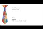 Cravate de la Fête des Pères Étiquettes Polyvalentes - gabarit prédéfini. <br/>Utilisez notre logiciel Avery Design & Print Online pour personnaliser facilement la conception.