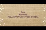 Toile à frange Étiquettes Polyvalentes - gabarit prédéfini. <br/>Utilisez notre logiciel Avery Design & Print Online pour personnaliser facilement la conception.
