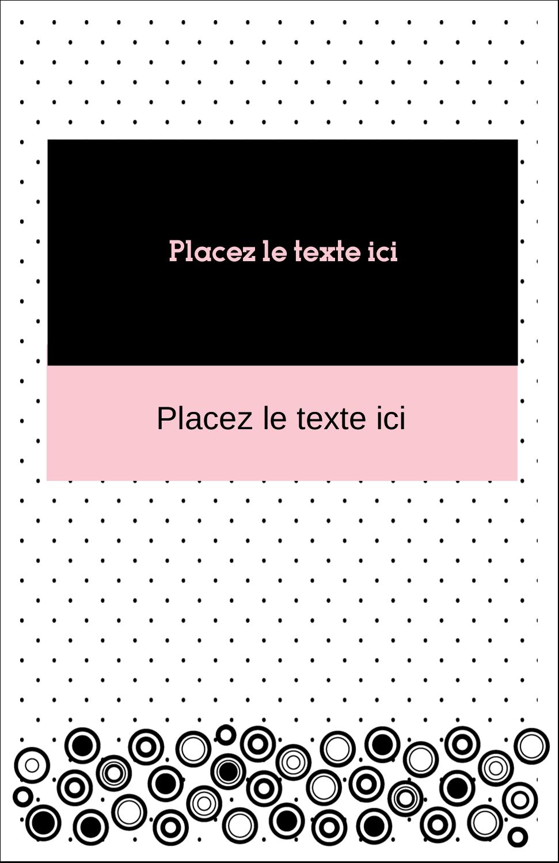 """8½"""" x 11"""" Binder Insert Reliures - Beauté à l'état pur"""