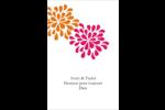Fête prénuptiale en rose et orange Reliures - gabarit prédéfini. <br/>Utilisez notre logiciel Avery Design & Print Online pour personnaliser facilement la conception.