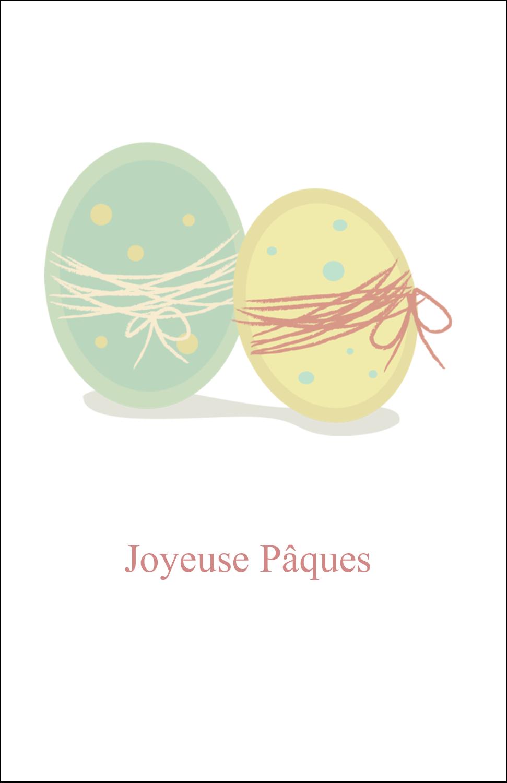 """8½"""" x 5"""" Cartes Et Articles D'Artisanat Imprimables - Œufs jumeaux"""