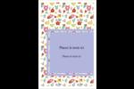 Fleurs printanières Reliures - gabarit prédéfini. <br/>Utilisez notre logiciel Avery Design & Print Online pour personnaliser facilement la conception.