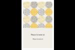 Cercles urbains jaunes Reliures - gabarit prédéfini. <br/>Utilisez notre logiciel Avery Design & Print Online pour personnaliser facilement la conception.