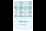 Cercles urbains bleus Reliures - gabarit prédéfini. <br/>Utilisez notre logiciel Avery Design & Print Online pour personnaliser facilement la conception.