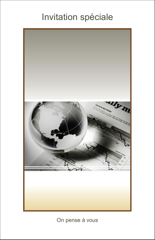 """8½"""" x 11"""" Binder Insert Reliures - Rapport financier"""