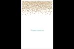 Lumières dorées Cartes Et Articles D'Artisanat Imprimables - gabarit prédéfini. <br/>Utilisez notre logiciel Avery Design & Print Online pour personnaliser facilement la conception.