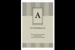 Initiale ex-libris Étiquettes Polyvalentes - gabarit prédéfini. <br/>Utilisez notre logiciel Avery Design & Print Online pour personnaliser facilement la conception.