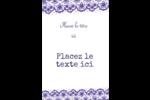 Mariage en dentelle violette Étiquettes pour couvertures de rapport - gabarit prédéfini. <br/>Utilisez notre logiciel Avery Design & Print Online pour personnaliser facilement la conception.