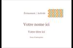 Motif fleuri Étiquettes badges autocollants - gabarit prédéfini. <br/>Utilisez notre logiciel Avery Design & Print Online pour personnaliser facilement la conception.