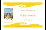 Voyage 5 Étiquettes badges autocollants - gabarit prédéfini. <br/>Utilisez notre logiciel Avery Design & Print Online pour personnaliser facilement la conception.