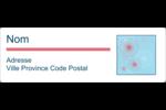 Célébration simple Étiquettes Polyvalentes - gabarit prédéfini. <br/>Utilisez notre logiciel Avery Design & Print Online pour personnaliser facilement la conception.