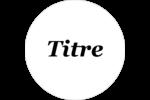 Motif fleuri Étiquettes à codage couleur - gabarit prédéfini. <br/>Utilisez notre logiciel Avery Design & Print Online pour personnaliser facilement la conception.