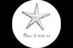 Plage Étiquettes Voyantes - gabarit prédéfini. <br/>Utilisez notre logiciel Avery Design & Print Online pour personnaliser facilement la conception.