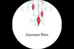 Noël élégant Étiquettes Voyantes - gabarit prédéfini. <br/>Utilisez notre logiciel Avery Design & Print Online pour personnaliser facilement la conception.