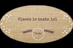 Toile à frange Intercalaires / Onglets - gabarit prédéfini. <br/>Utilisez notre logiciel Avery Design & Print Online pour personnaliser facilement la conception.