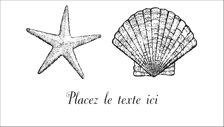 """3"""" x 5"""" Cartes Pour Le Bureau - Plage"""