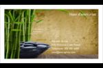 Bien-être Carte d'affaire - gabarit prédéfini. <br/>Utilisez notre logiciel Avery Design & Print Online pour personnaliser facilement la conception.