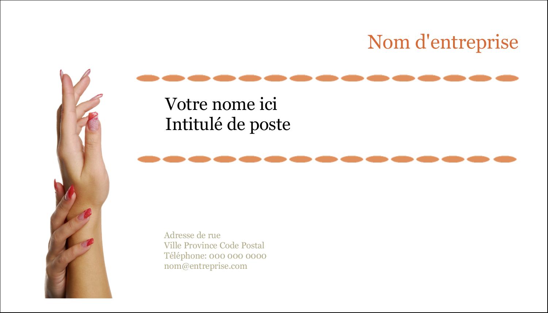 """3"""" x 5"""" Cartes Pour Le Bureau - Soins de beauté"""