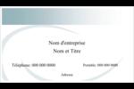 Ellipse Cartes Pour Le Bureau - gabarit prédéfini. <br/>Utilisez notre logiciel Avery Design & Print Online pour personnaliser facilement la conception.