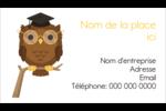 Hibou et diplôme Cartes Pour Le Bureau - gabarit prédéfini. <br/>Utilisez notre logiciel Avery Design & Print Online pour personnaliser facilement la conception.