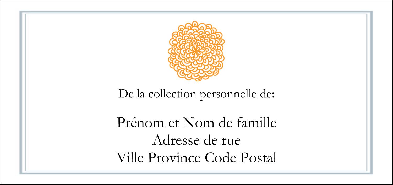 """2-13/16"""" x 1½"""" Étiquettes Pour Copieurs - Ex-libris générique"""