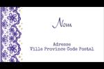 Mariage en dentelle violette Étiquettes de classement écologiques - gabarit prédéfini. <br/>Utilisez notre logiciel Avery Design & Print Online pour personnaliser facilement la conception.