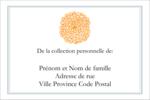 Ex-libris générique  Étiquettes Polyvalentes - gabarit prédéfini. <br/>Utilisez notre logiciel Avery Design & Print Online pour personnaliser facilement la conception.