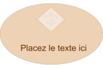 Diamant beige Étiquettes ovales - gabarit prédéfini. <br/>Utilisez notre logiciel Avery Design & Print Online pour personnaliser facilement la conception.