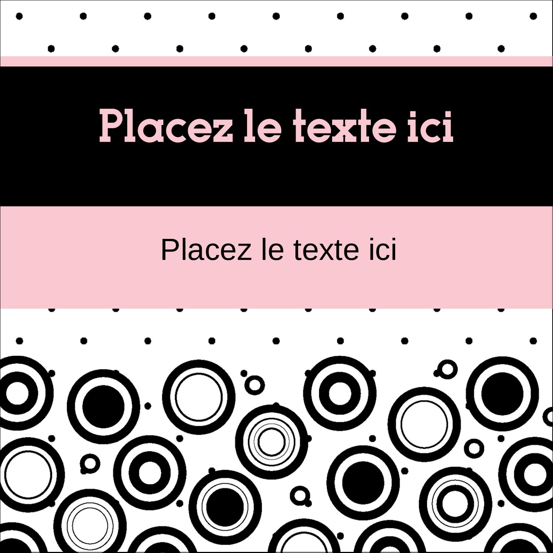"""2"""" x 2"""" Étiquettes carrées - Beauté à l'état pur"""