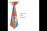 Cravate de la Fête des Pères Étiquettes carrées - gabarit prédéfini. <br/>Utilisez notre logiciel Avery Design & Print Online pour personnaliser facilement la conception.