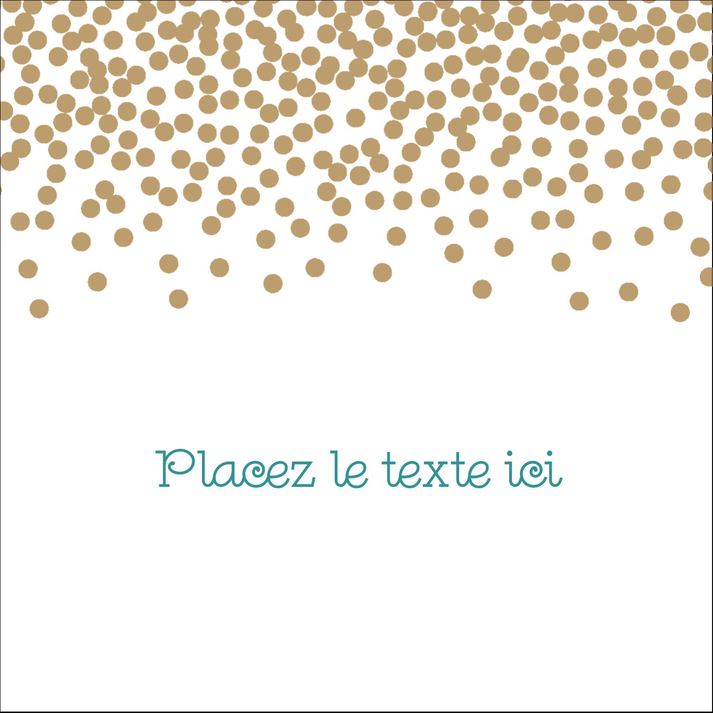 Lumières dorées Étiquettes carrées - gabarit prédéfini. <br/>Utilisez notre logiciel Avery Design & Print Online pour personnaliser facilement la conception.