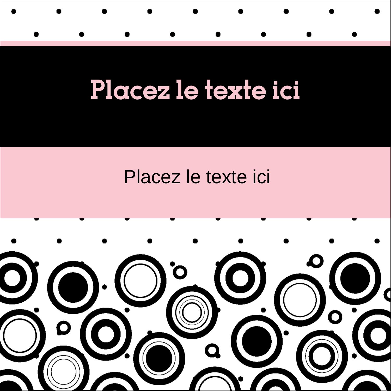 """2"""" Diameter Étiquettes rondes - Beauté à l'état pur"""