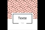 Jolis pois Étiquettes enveloppantes - gabarit prédéfini. <br/>Utilisez notre logiciel Avery Design & Print Online pour personnaliser facilement la conception.