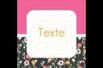 Fleurs modernes Étiquettes enveloppantes - gabarit prédéfini. <br/>Utilisez notre logiciel Avery Design & Print Online pour personnaliser facilement la conception.