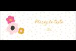 Fleurs modernes Étiquettes D'Adresse - gabarit prédéfini. <br/>Utilisez notre logiciel Avery Design & Print Online pour personnaliser facilement la conception.