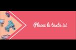 Patins à roulettes Étiquettes D'Adresse - gabarit prédéfini. <br/>Utilisez notre logiciel Avery Design & Print Online pour personnaliser facilement la conception.