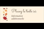 Feuilles de l'Action de grâces Étiquettes D'Adresse - gabarit prédéfini. <br/>Utilisez notre logiciel Avery Design & Print Online pour personnaliser facilement la conception.