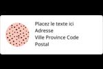 Jolis pois Étiquettes D'Adresse - gabarit prédéfini. <br/>Utilisez notre logiciel Avery Design & Print Online pour personnaliser facilement la conception.