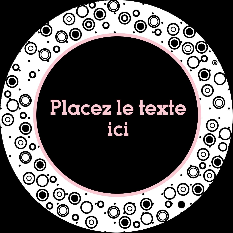"""2½"""" Diameter Étiquettes rondes - Beauté à l'état pur"""