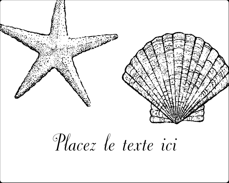 """2"""" Diameter Étiquettes rondes gaufrées - Plage"""