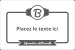 Logo simple Étiquettes rectangulaires - gabarit prédéfini. <br/>Utilisez notre logiciel Avery Design & Print Online pour personnaliser facilement la conception.