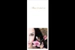 Femme aux orchidées Tickets - gabarit prédéfini. <br/>Utilisez notre logiciel Avery Design & Print Online pour personnaliser facilement la conception.
