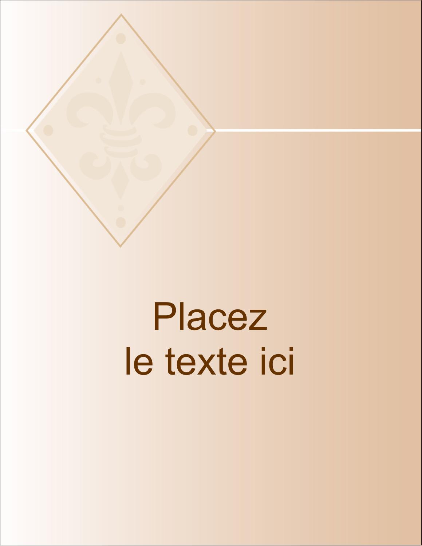 "5½"" x 4¼"" Carte Postale - Diamant beige"