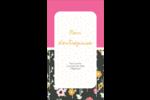 Fleurs modernes Carte d'affaire - gabarit prédéfini. <br/>Utilisez notre logiciel Avery Design & Print Online pour personnaliser facilement la conception.