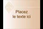 Diamant beige Carte Postale - gabarit prédéfini. <br/>Utilisez notre logiciel Avery Design & Print Online pour personnaliser facilement la conception.