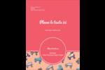 Patins à roulettes Carte Postale - gabarit prédéfini. <br/>Utilisez notre logiciel Avery Design & Print Online pour personnaliser facilement la conception.